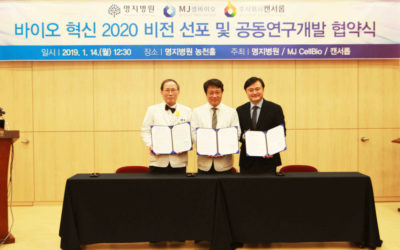 CancerROP, MJCellBio and Myongji Hospital starts joints research on anti-cancer therapy