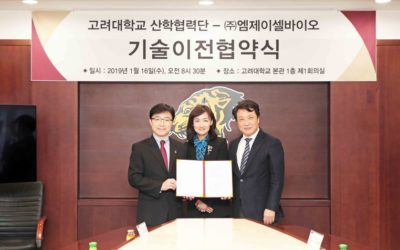 Myongji Hospital and MJCellBio starts collaboration on anti-cancer cell therapy